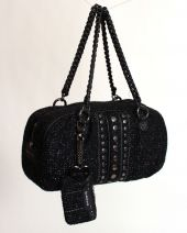 bebe women's purse black