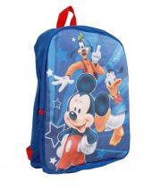 DISNEY children's backpack with Mickey Mouse, Donald duck & Goofy