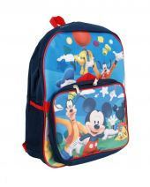 DISNEY children's backpack with Mickey Mouse, Pluto & Goofy