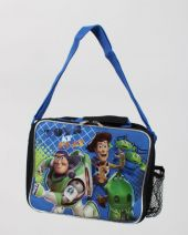 DISNEY TOY'S STORY childrens lunch tote blue TOYS  AT PLAY